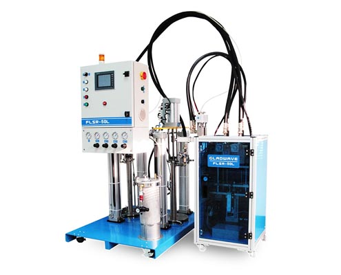 silicone mixing machine