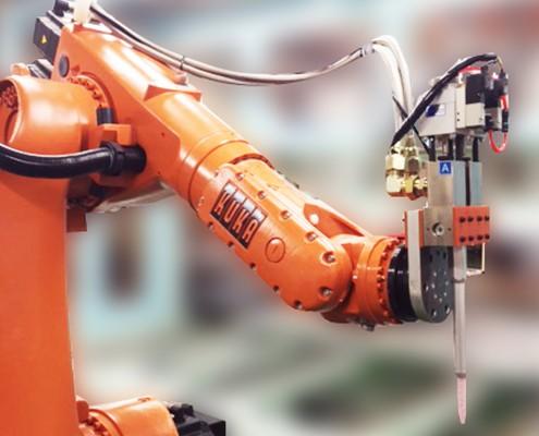 欣橋科技-雙液混合配合機械手臂