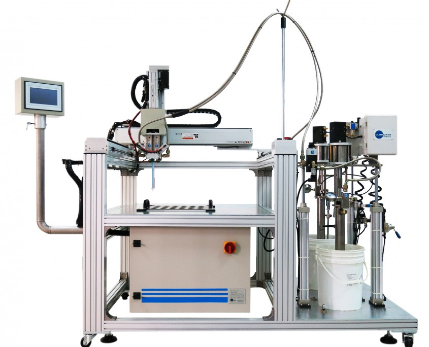 GLADWAVE&XYZ-TABLE高黏度材料混合輸出